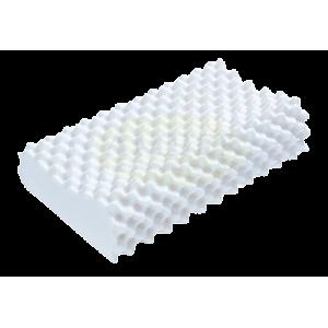 """หมอนยางพารา รุ่น มาสสาจ คอนทัวร์ """"传统型乳胶枕头""""  (Massage Contour Latex Pillow)"""