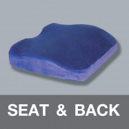 Seat & Back Cushion Memory Foam