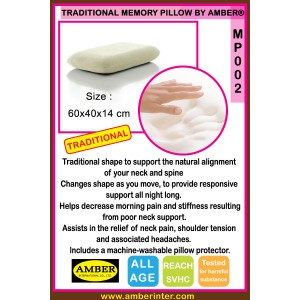 Traditional Memory Foam Pillow